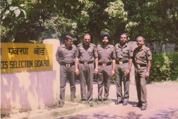 Lt Col Dalvi with other GTOs