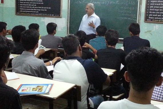 Col Dalvi Teaching NDA Students